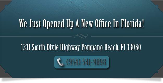 Certified Florida Office (954)-541-9898
